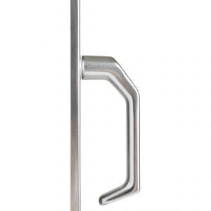 Mâner ușă Schuco Argintiu